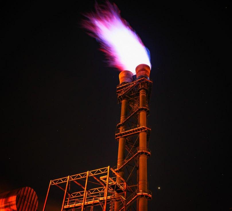 tours d'evacuation de gaz